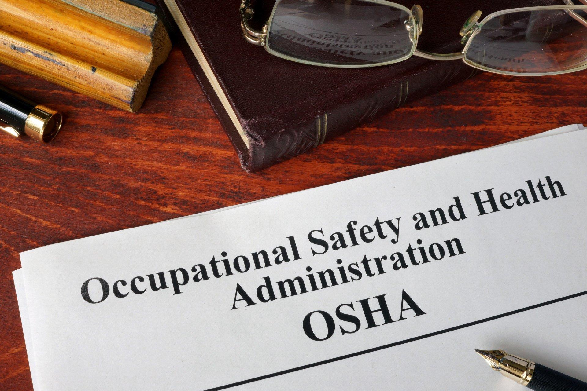 OSHA guidelines