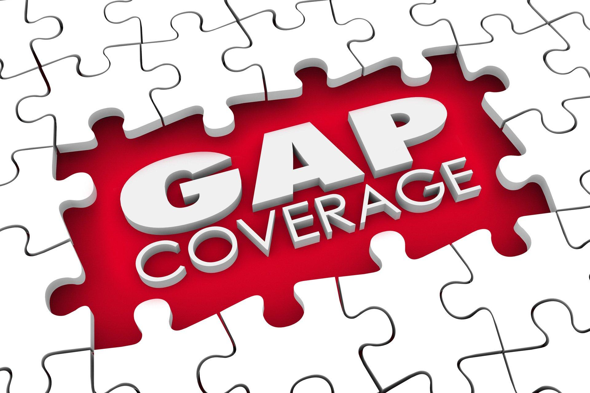 Gaps in coverage