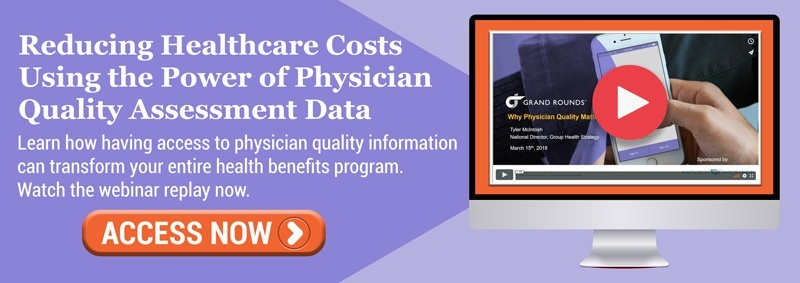 Webinar: Reducing Healthcare Costs Using the Power of Physician Quality Assessment Data